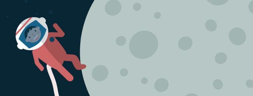 Gravidade zero na lua