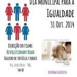 Cartaz Dia Municipal para a Igualdade