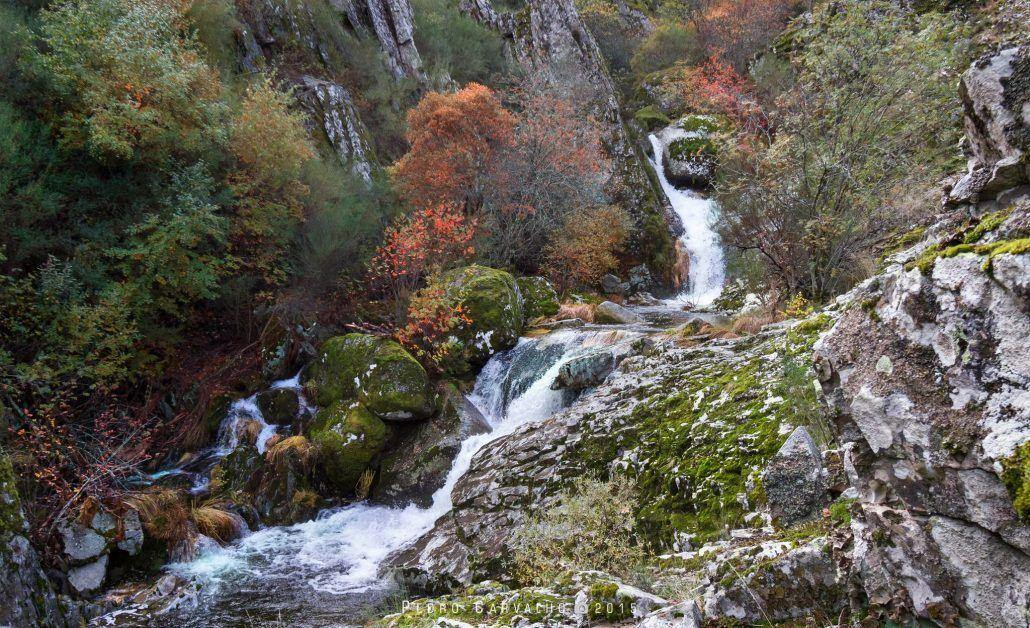 Queda de Água Natural - Serra da Estrela