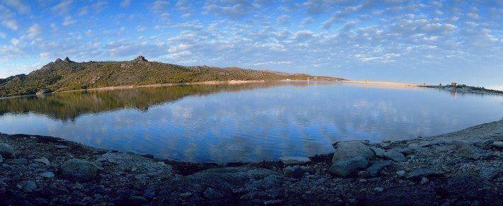 Lagoa do Vale do Rossim. Primavera. (PM)
