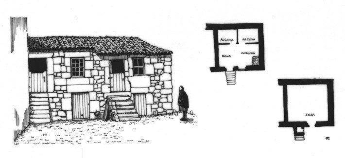 Folgosinho. Casa Tradicional. (LAC)(AC)