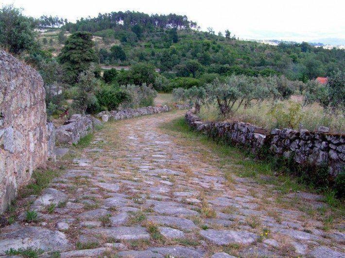 Calçada Romana em Fornos de Algodres. (LAC)