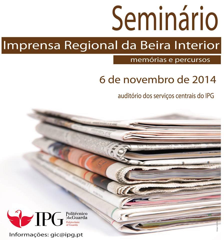 Seminário sobre Imprensa no IPG
