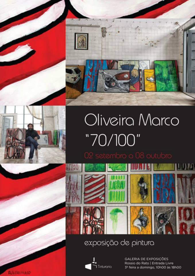 """Exposição de Pintura """"70/ 100″ patente na Covilhã"""
