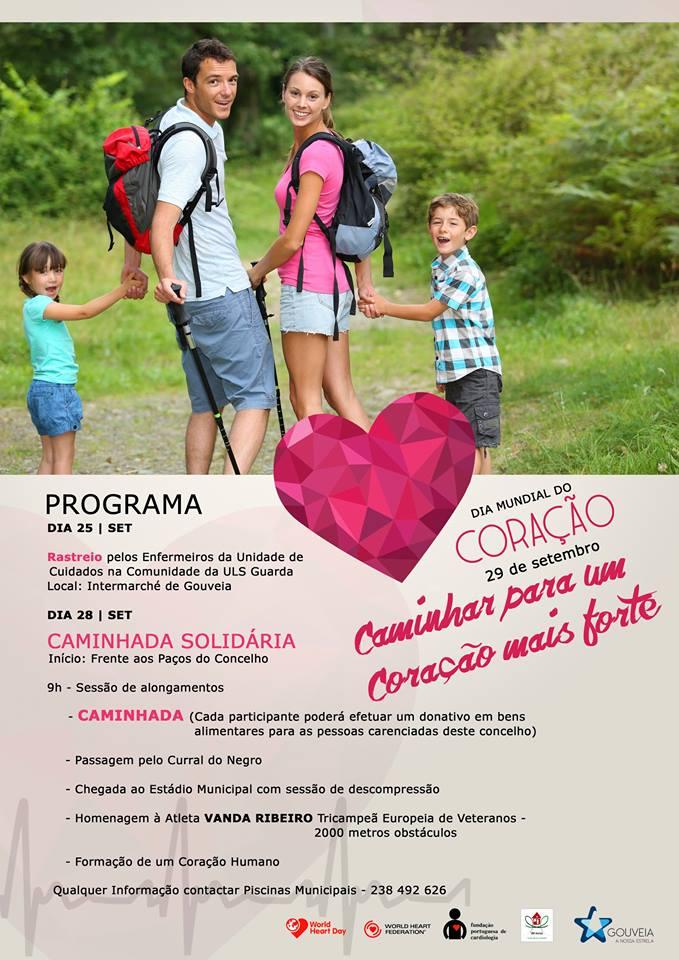 Dia Mundial do Coração celebrado em Gouveia