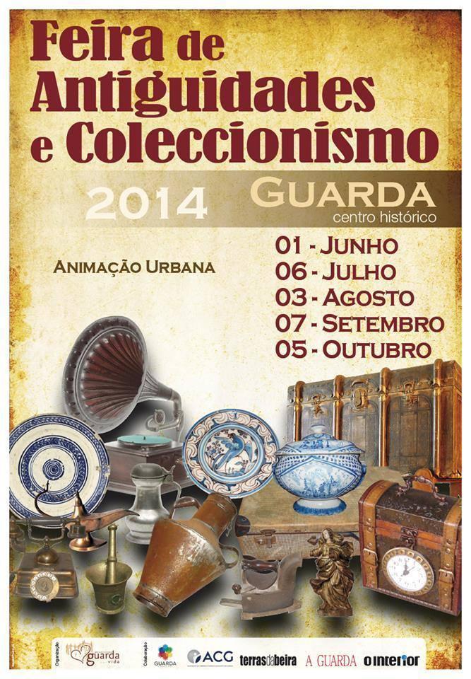 Feira de Antiguidades e Colecionismo na Guarda