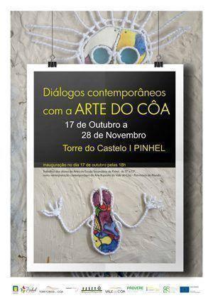 """Exposição """"Diálogos Contemporâneos com Arte do Côa"""" em Pinhel"""