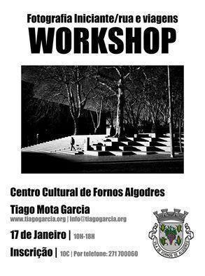 Workshop de Fotografia em Fornos de Algodres