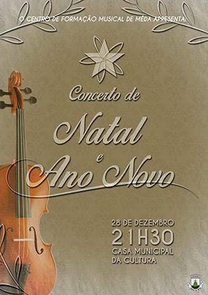 Concerto de Natal e de Ano Novo em Mêda